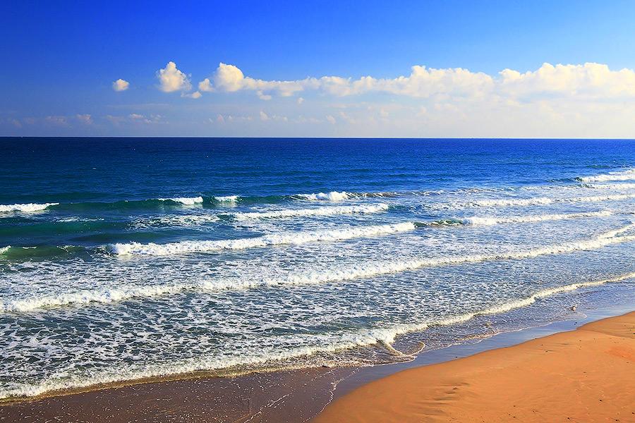 Побережье Испании пляжи Коста Бланки