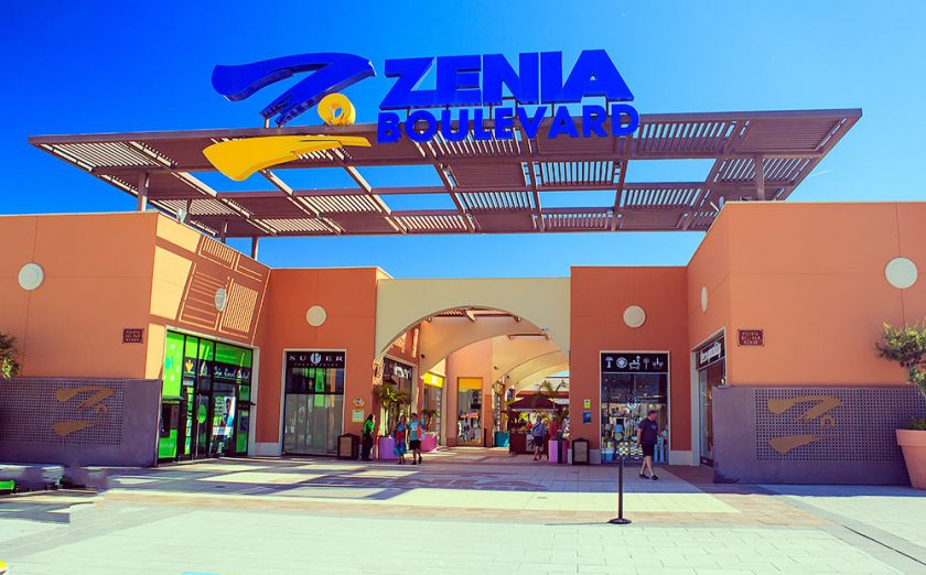 "Commerce and Commercial Center ""La Zenia Boulevard"" in Spain"