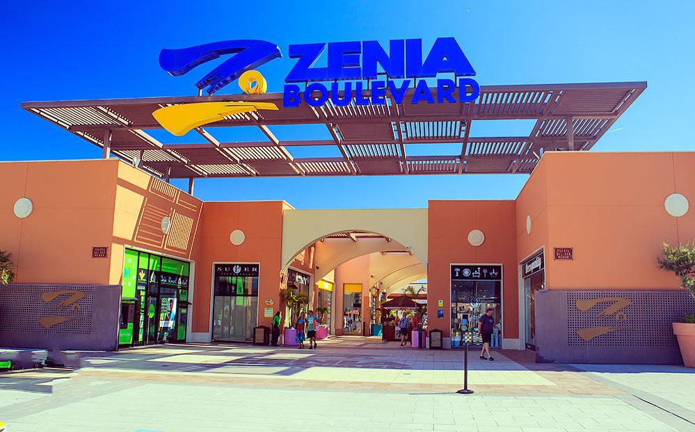 Торгово коммерческий центр «Ла Зения Бульвар» в Испании