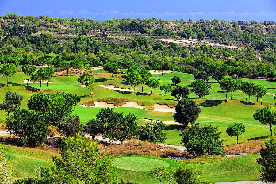 гольф поле в Испании на Коста Бланка