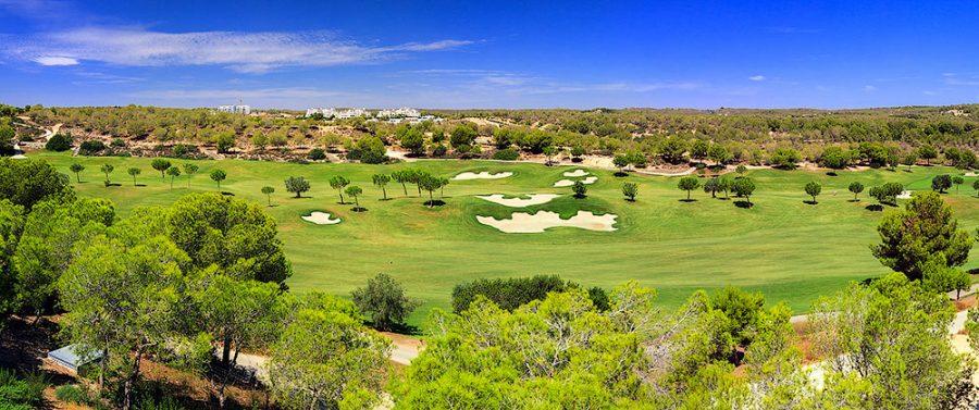 гольф клубы в Испании на Ориуэла Коста