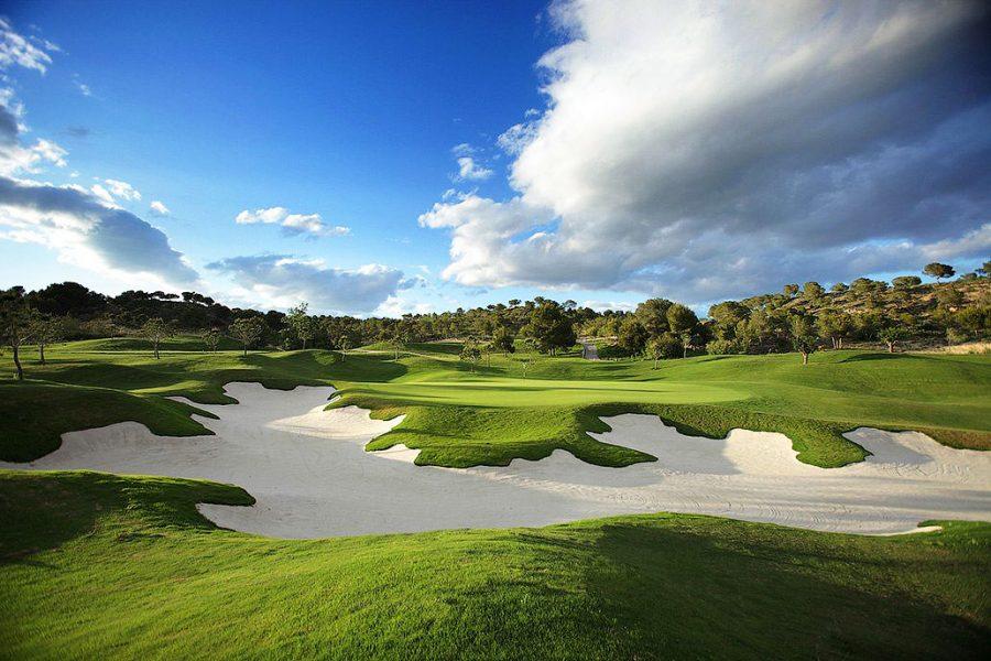Испания гольф Лас Рамблас
