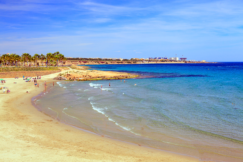 Playa Flamenca Orihuela Costa Spain