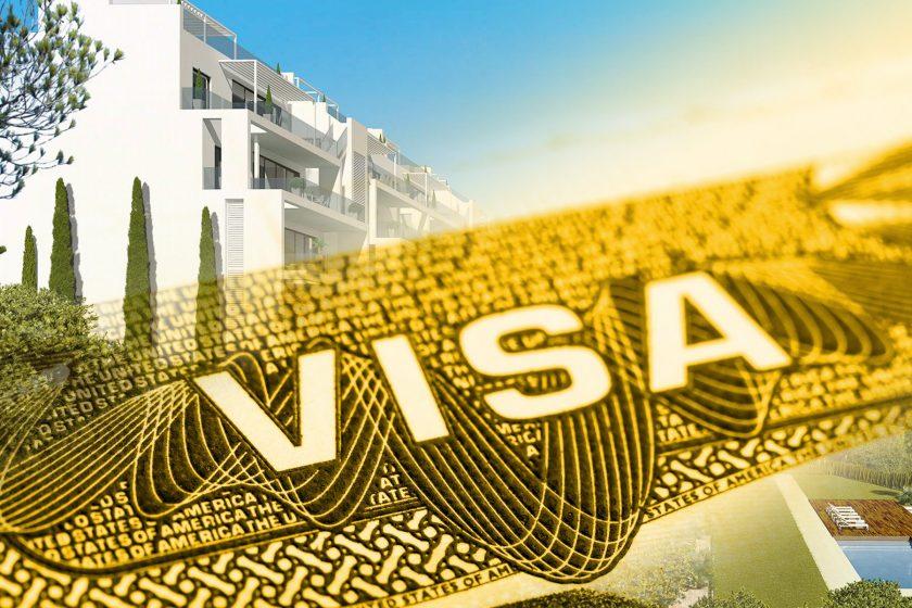 Visa de oro España