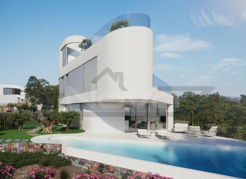 Stock Foto Luxury villa in Fenistrat